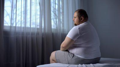 obese man