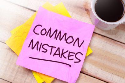 common mistake word