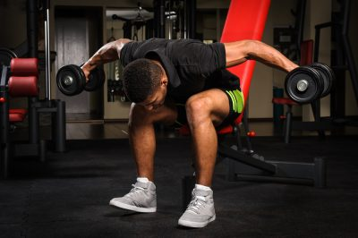 Bent over row workout