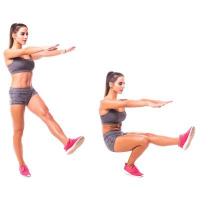 How to perform pistol squat