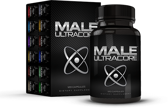 Box of Male UltraCore Low Testosterone Booster
