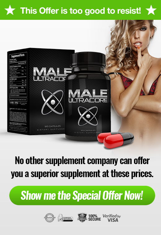 Banner of Male UltraCore Low Testosterone Booster